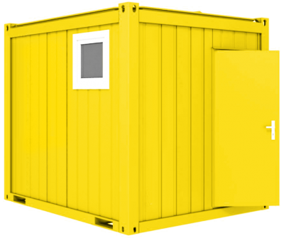 Sanitärcontainer 10'